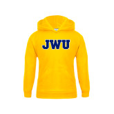 Youth Gold Fleece Hoodie-JWU