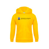 Youth Gold Fleece Hoodie-University Mark