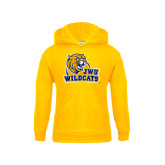 Youth Gold Fleece Hoodie-JWU Wildcats