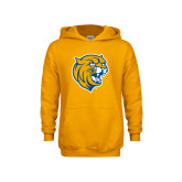 Youth Gold Fleece Hoodie-Wildcat Head