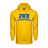 Under Armour Gold Performance Sweats Team Hoodie-JWU Equestrian