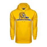 Under Armour Gold Performance Sweats Team Hoodie-Cheerleading
