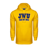 Under Armour Gold Performance Sweats Team Hoodie-JWU Rowing