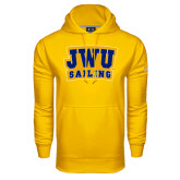 Under Armour Gold Performance Sweats Team Hoodie-JWU Sailing