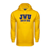 Under Armour Gold Performance Sweats Team Hoodie-JWU Soccer