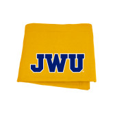 Gold Sweatshirt Blanket-JWU