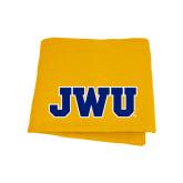 Gold Sweatshirt Blanket-JWU