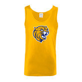 Gold Tank Top-Wildcat Head