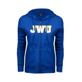 ENZA Ladies Royal Fleece Full Zip Hoodie-JWU