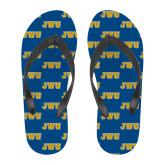Full Color Flip Flops-JWU