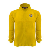 Fleece Full Zip Gold Jacket-Wildcat Head