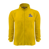 Fleece Full Zip Gold Jacket-JWU Wildcats