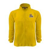 Fleece Full Zip Gold Jacket-JWU Wildcats