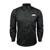Red House Black Long Sleeve Shirt-JWU