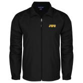 Full Zip Black Wind Jacket-JWU