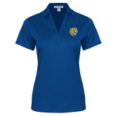 Ladies Royal Performance Fine Jacquard Polo-Wildcat Head