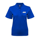 Ladies Easycare Royal Pique Polo-JWU