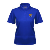 Ladies Royal Dry Mesh Polo-Wildcat Head