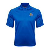 Royal Textured Saddle Shoulder Polo-JWU Wildcats