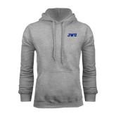 Grey Fleece Hoodie-JWU