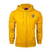 Champion Gold Fleece Full Zip Hood-Wildcat Head