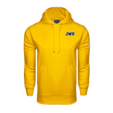 Under Armour Gold Performance Sweats Team Hoodie-JWU
