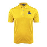 Gold Dry Mesh Polo-JWU Wildcats