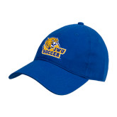 Royal Twill Unstructured Low Profile Hat-Soccer