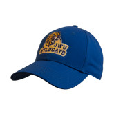Royal Heavyweight Twill Pro Style Hat-JWU Wildcats