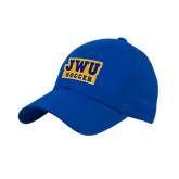 Royal Heavyweight Twill Pro Style Hat-JWU Soccer