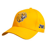 Gold Heavyweight Twill Pro Style Hat-Wildcat Head