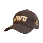 Charcoal Heavyweight Twill Pro Style Hat-JWU