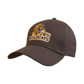 Charcoal Heavyweight Twill Pro Style Hat-JWU Wildcats