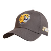 Charcoal Heavyweight Twill Pro Style Hat-Wildcat Head