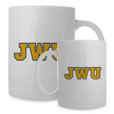 Full Color White Mug 15oz-JWU