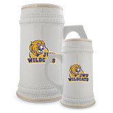 Full Color Decorative Ceramic Mug 22oz-JWU Wildcats