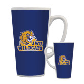 Full Color Latte Mug 17oz-JWU Wildcats