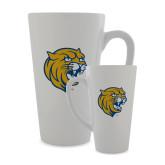 Full Color Latte Mug 17oz-Wildcat Head