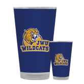 Full Color Glass 17oz-JWU Wildcats