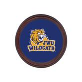Round Coaster Frame w/Insert-JWU Wildcats