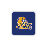 Hardboard Coaster w/Cork Backing-JWU Wildcats