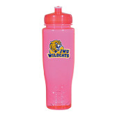 Spectrum Pink Sport Bottle 28oz-JWU Wildcats