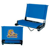 Stadium Chair Royal-JWU Wildcats