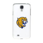 White Samsung Galaxy S4 Cover-Wildcat Head