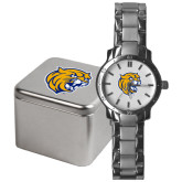 Mens Stainless Steel Fashion Watch-Wildcat Head
