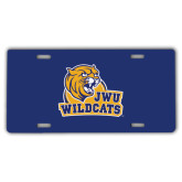 License Plate-JWU Wildcats