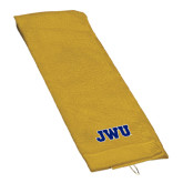 Gold Golf Towel-JWU