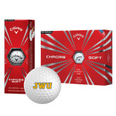 Callaway Chrome Soft Golf Balls 12/pkg-JWU