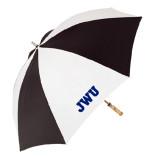 62 Inch Black/White Umbrella-JWU