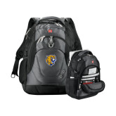 Wenger Swiss Army Tech Charcoal Compu Backpack-Wildcat Head